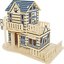 cheap 3D Puzzles-Wooden Puzzle Famous buildings Chinese Architecture House Professional Level Wooden 1pcs Kid's Boys' Gift