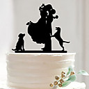 cheap Wedding Decorations-Cake Accessories Acrylic Wedding Decorations Birthday / Wedding Party / Valentine's Day Spring / Summer / Fall