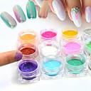 baratos Outras Ferramentas-1set Purpurina Jóias de Unhas Adorável arte de unha Manicure e pedicure Diário Glitters / Shimmering / Fashion / Jóias de unha