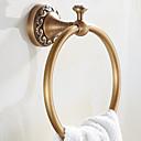 رخيصةأون روب و مناشب-قضيب المنشفة الكلاسيكية الحديثة نحاس 1 قطعة - حمام الفندق خاتم منشفة