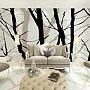 baratos Murais de Parede-Floral Art Deco 3D Decoração para casa Moderna Revestimento de paredes, Tela de pintura Material adesivo necessário Mural, Cobertura para