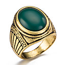 cheap Men's Rings-Men's Ring - Fashion 7 / 8 / 9 Red / Green / Blue For Party / Daily / Casual