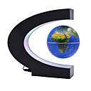 billige Astronomileker og -modeller-Flytende Globe Kreativ Magnetisk levitasjon Gutt Jente 1 pcs Deler ABS Leketøy Gave