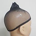 رخيصةأون باروكات كابلس صناعية-Wig Accessories قبعات الباروكة 2 pcs يوميا كلاسيكي أسود