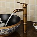 preiswerte Kuchenbackformen-Waschbecken Wasserhahn - Verbreitete Chrom Mittellage Einhand Ein Loch