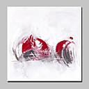 billige Trykk-Hang malte oljemaleri Håndmalte - Abstrakt Europeisk Stil Moderne Lerret