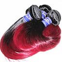 olcso Természetes színű póthajak-Emberi haj Remy emberi haj tincs Egyenes Brazil haj 300 g 1 évnél több