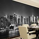 tanie Fresk-Mural Brezentowy Tapetowanie - klej wymagane Kwiaty / Art Deco / 3D