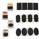 preiswerte Küchenorganisation-36pcs Kreidestift Kreidetafel Aufkleber Etiketten Vinyl Küche jar Dekor Abziehbilder 5cm x 3.5cm