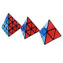 abordables Grifos de Lavabo-Cubo de rubik Shengshou Pyramid 4*4*4 3*3*3 2*2*2 Cubo velocidad suave Cubos mágicos rompecabezas del cubo Regalo Clásico Chica