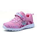 preiswerte Mädchenschuhe-Mädchen Schuhe Tüll Herbst Komfort Sportschuhe Walking Schnalle für Purpur / Rosa