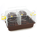 cheap Small Animals Accessories-Rodents / Hamster Plastic / Metal Multi-function Cages Coffee / Blue / Pink