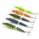cheap Fishing Lures & Flies-5 pcs Hard Bait / Minnow / Fishing Lures Hard Bait / Minnow Hard Plastic Sea Fishing / Bait Casting / Jigging Fishing / Freshwater Fishing / Bass Fishing / Lure Fishing / General Fishing