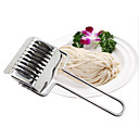 hesapli Mutfak Gereçleri-Mutfak aletleri Paslanmaz Çelik Yaratıcı Mutfak Gadget Kalemtıraş Noodles için 1pc