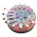 billiga Ögonskuggor-Ögonskuggor / Puder Öga Färgat glans Långvarig Naturlig Vardagsmakeup / Halloweenmakeup / Festmakeup Dagligen Smink Kosmetisk