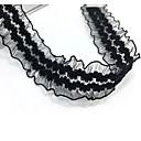 preiswerte Halsbänder-Halsketten - Spitze Einzigartiges Design, Tattoo Stil, Grundlegend Schwarz Modische Halsketten Für Hochzeit, Party, Besondere Anlässe