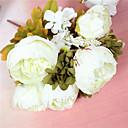 olcso Művirág-Művirágok 1 Ág minimalista stílusú Bazsarózsák Asztali virág