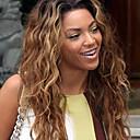 povoljno Perike s ljudskom kosom-Remy kosa Lace Front Perika Jennifer stil Peruanska kosa Prirodne kovrče Perika 150% Gustoća kose s dječjom kosom Ombre Prirodna linija za kosu 100% rađeno rukom Žene Kratko Srednja dužina Dug Perike