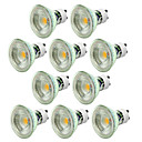 cheap LED Spot Lights-10pcs 5W 550-650lm GU10 LED Spotlight 1 LED Beads COB Dimmable Decorative Warm White Cold White 220-240V