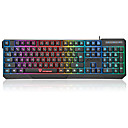 cheap Mouse keyboard combo-motospeed Wired Multicolor Backlit 104 Gaming Keyboard Waterproof Backlit