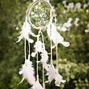 tanie Parasol przeciwdeszczowy / przeciwsłoneczny-1szt Ostatnio ręcznie Dream Catcher netto z piór wiszące wystrój rzemiosła prezent dzwonków wiatrowych
