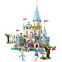 cheap Doll Houses-Building Blocks 669 pcs Princess / Cinderella Castle Romantic Girls' Gift