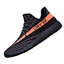 cheap Men's Athletic Shoes-Men's Light Soles Knit Spring / Summer / Fall Athletic Shoes Walking Shoes Orange / Gray / Black / White
