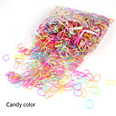 cheap Hair Accessories-Elastics & Ties Hair Accessories Silicon Rubber Plastic Wigs Accessories Girls' 2000 pcs cm