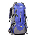 cheap Backpacks & Bags -50 L Hiking Backpack / Rucksack - Waterproof, Breathable, Shockproof Outdoor Camping / Hiking, Climbing, Leisure Sports Nylon Red, Dark Blue, Royal Blue