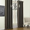 preiswerte Verdunkelungsvorhänge-Verdunklungsvorhänge Vorhänge Wohnzimmer Solide Polyester / Verdunkelung