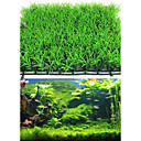 abordables Decoración y Gravilla de Acuario-Decoración de Acuario Planta Acuática Artificial El plastico
