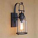 baratos Arandelas de Parede-Rústico / Campestre / Regional / Retro Luminárias de parede Metal Luz de parede 110-120V / 220-240V 40W
