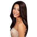 billige Ombré hårforlængelser-1 Bundle Indisk hår Klassisk / Yaki Menneskehår Menneskehår, Bølget Menneskehår Vævninger Menneskehår Extensions