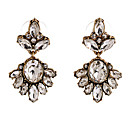 cheap Earrings-Crystal Drop Earrings - White For Party / Daily / Casual