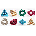 abordables Juguetes Magnéticos-1000 pcs 6mm Juguetes Magnéticos Bolas magnéticas / Bloques de Construcción / Puzzle Cube Magnético Niños Regalo