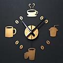 رخيصةأون اصنع بنفسك ساعة الحائط-كاجوال الحديثة / المعاصرة تقليدي زهري رجعي مكتب/الأعمال أكريليك معدن دائري بدعة في الأماكن المغلقة /في الهواء الطلق,AA ساعة الحائط