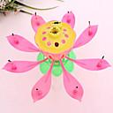 ieftine Lumânări & Suport de Lumânări-muzicale lotus floare lumânări fericit ziua de naștere lumânare pentru partid lumini cadou decor