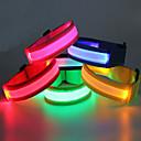 baratos Equipamento Refletor-Braçadeira de Corrida com LED / Cinto Luminoso Impermeável para Campismo / Escursão / Espeleologismo / Ciclismo / Exterior - Branco Frio / Vermelho / Azul