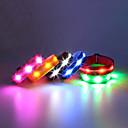 billige USB-hubber og brytere-Joggearmbånd med LED Refleksarmbånd Kompaktstørrelse til Camping/Vandring/Grotte Udforskning Sykling Klatring Utendørs - Hvit Blå Rød