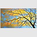 halpa Maisema maalaukset-Hang-Painted öljymaalaus Maalattu - Abstrakti Moderni Kangas