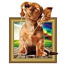tanie Naklejki ścienne-Dekoracyjne naklejki ścienne - Naklejki ścienne 3D Zwierzęta / Kreskówki / 3D Salon / Sypialnia / Łazienka