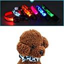 preiswerte Halsbänder, Geschirre und Leinen für Hunde-Katze Hund Halsbänder LED-Lampen Anti Bark camuflaje Nylon Gelb Rot Grün Blau Rosa