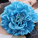 cheap Party Headpieces-Fabric / Satin Fascinators / Flowers / Headwear with Floral 1pc Wedding / Special Occasion / Outdoor Headpiece