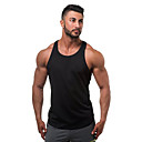 cheap Holiday Party Decorations-Men's Sports / Beach Active Cotton Tank Top - Solid Colored Basic / Sleeveless