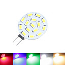 cheap LED Bi-pin Lights-SENCART 1.5 W 100-150 lm G4 LED Spotlight MR11 15 LED Beads SMD 5630 Dimmable Warm White / Natural White / Red 12 V / 24 V / 9-30 V