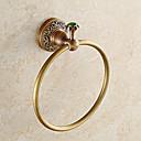 billige Smykke Sett-Håndklestang Moderne Messing / Rustfritt Stål 1 stk - Hotell bad håndkle ring