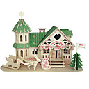 cheap Models & Model Kits-Wooden Puzzle Famous buildings Chinese Architecture House Professional Level Wooden 1 pcs Boys' Girls' Toy Gift