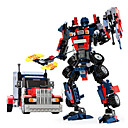 cheap Robots-GUDI Robot / Toy Car / Building Blocks 377pcs Warrior / Machine / Robot Transformable / Creative / Cool Classic & Timeless / Elegant &