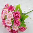 رخيصةأون زهور اصطناعية-زهور اصطناعية 1 فرع الحديث الورود أزهار الطاولة