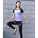 halpa Kuntoilu-, juoksu- ja joogavaatetus-LiNing® Naisten Juoksupaita ja -housut Urheilu Seksikäs Puuvilla Bib pyöräilysortsit Jooga Kuntoilu Juoksu Pitkähihainen Activewear Hengittävä Nopea kuivuminen